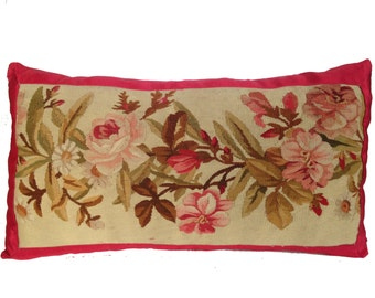18th Century French Tapestry Pillow