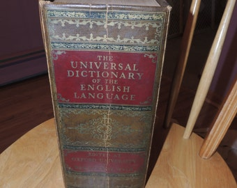 The Universal Dictionary of the English Language (1938)