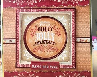Jolly christmas card