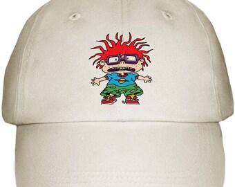 Red head cap