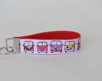 VW Bus Key Fob Lanyard