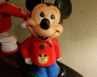 Vintage 1970's Walt Disney Prod. Mickey Mouse Coin Bank