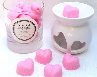 Fancy Pink Champagne, wax melts, scented wax melts, home fragrance, highly scented melts, soy wax melts, wax melts scented