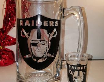 Raiders Drink Set