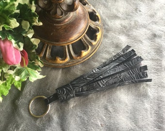 Leather Tassel Keyring/Keychain-Gifts for Her-Bridesmaids Gifts