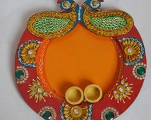 Unique pooja thali rel...