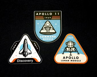 Space themed sticker pack