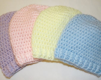 Basic Crocheted Baby Hat