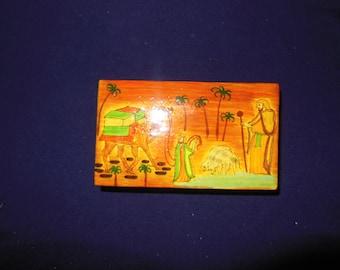 Hand Made Paper Mashes jewelry Box