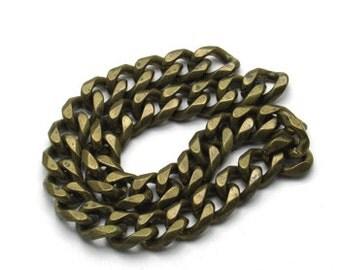 1 m. Brass Chains (12.5 mm.)