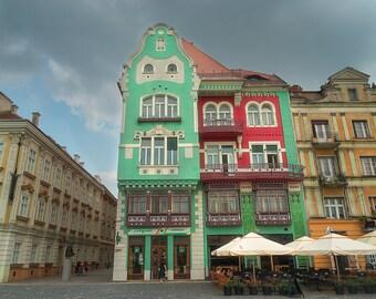 Piața Unirii Architecture, Timisoara Romania