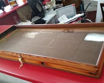 Antique Window Display Case