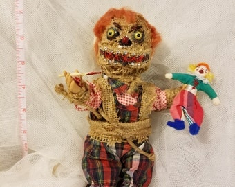 Scary Halloween doll nightmare