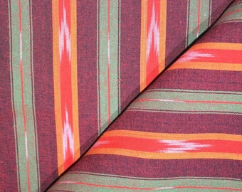 Multicolor Ikat Fabric