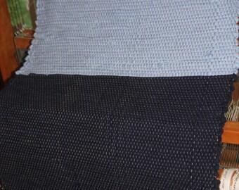 Loomed Rag Rug for Kitchen, Bedroom or Bath
