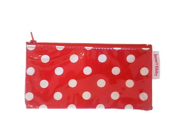 Red Spot Mini Cosmetic Purse