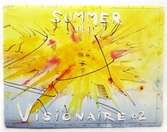 Visionarie #2 Travel Issue 1991