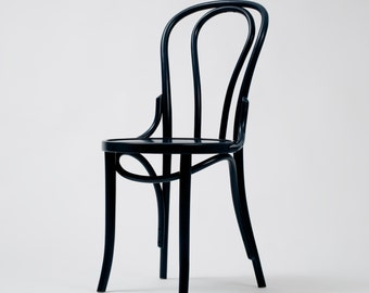 Bentwood Dining Chair Petrol Blue