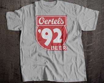 Oertel's '92 Beer T-Shirt | Me's Unisex 3XL-6XL Tee | Vintage Bar and Brewery Label Clothing
