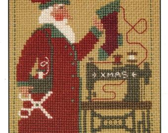 2006 Schooler Santa by Prairie Schooler Counted Cross Stitch Pattern/Chart
