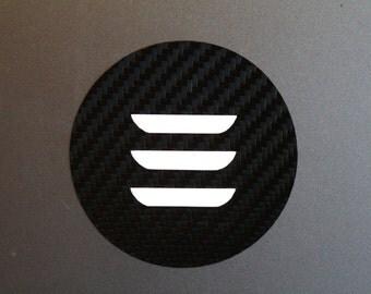 Tesla Model 3 MacBook Decal - Circle