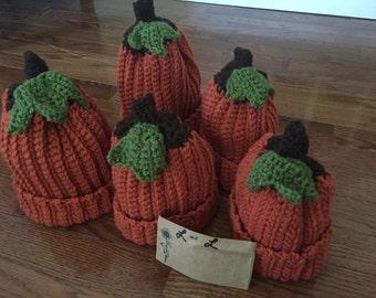 My Little Pumpkin- Crochet Pumpkin Hat