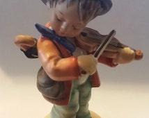 Hummel Figurine Little Fiddler #4 TMK-6