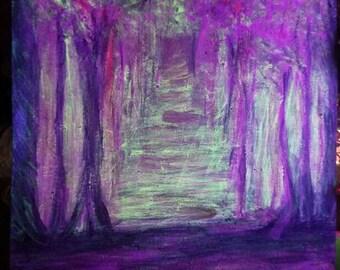 Shades of purple....