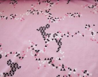 Deere diamond Pink Fabric