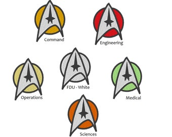 Star Trek The Motion Picture Rank Insignias