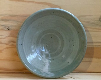 Wood Fired Stoneware, Blue Plates