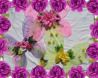 Flower Fairy Wings