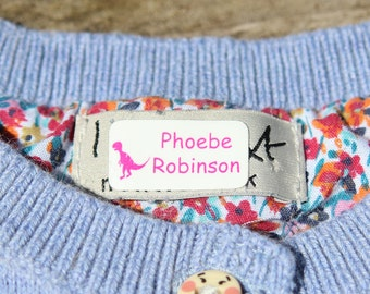 Just stick name labels, name stickers, clothes labels, name labels, school labels, no sew or iron labels, easy name labels,  name sticker