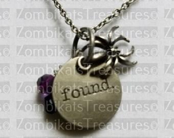 Found Charm Necklace