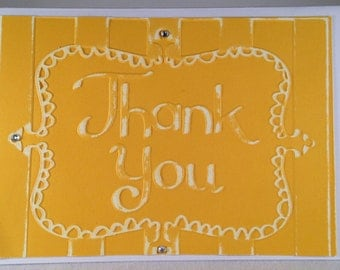 Set of 5 Thank You CLASSIC Thank You Cards