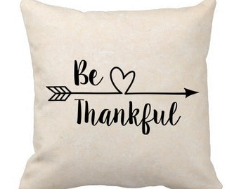 Be Thankful, Thanksgiving, Decal, Heat Transfer, Iron On, Silhouette, Cricut, Vinyl, Plotter, Vector, Clipart, SVG, Arrow, Instant Download