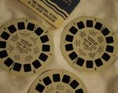 Souvenir View Master Reels #254 A-C Storybook Land Wisconsin Dells Set of 3 Reels Copyright 1957