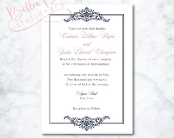 Tatiana Wedding Invitation Design
