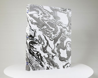 MARBLE notebook #4 / marbled high-end stationery