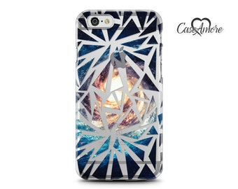 iPhone 7 case, iPhone 6s case, iPhone 6 case, iPhone 6 Plus case, Clear case, Rubber case, Galaxy S7 case, Samsung Galaxy case, Broken Space
