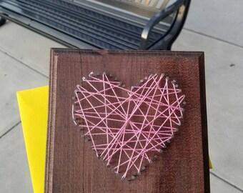 String heart!