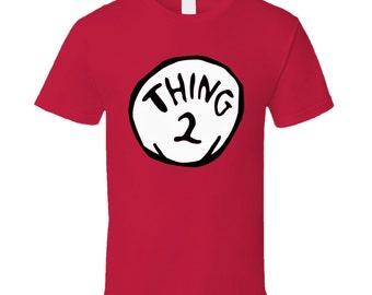 Vintage T Shirt Thing 2 Kids