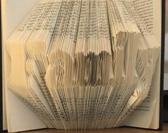Folded Book Art- Family