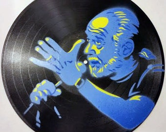 "George Carlin on 12"" Vinyl Record"