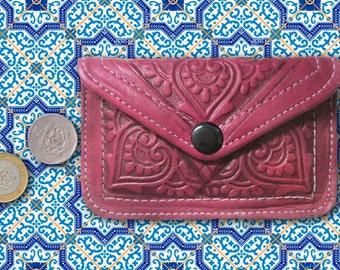 Moroccan Wallet handmade genuine leather original handicraft