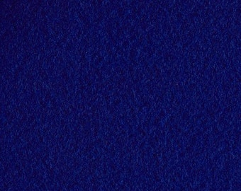 Royal Blue Craft Felt Fabric - Kunin Felt - Blue Crafting Felt