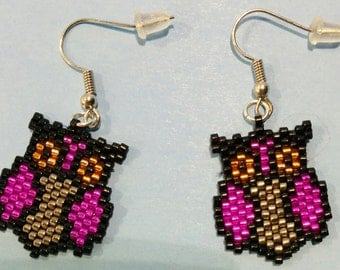 The Little Hooter Earrings