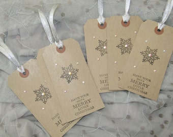 Christmas Gift Tags/ Snowflakes/ Frozen