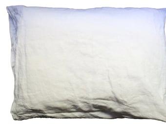 Organic Linen pillow case, vegan pillowcase, healing pillowcase, linen