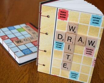 Write Draw Scrabble Book